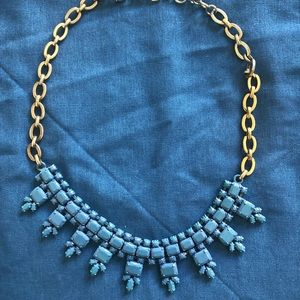 J. Crew blue necklace